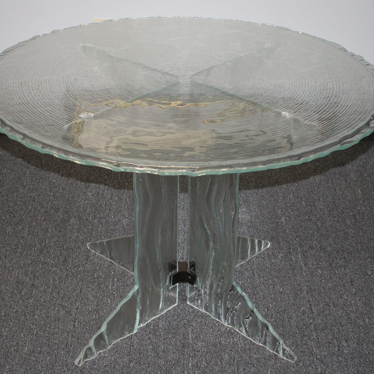 Cast Glass Table - Table & Furniture Glass Tops
